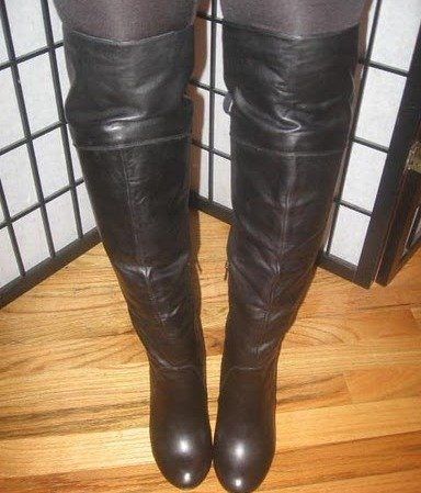 Two Lips Voodoo Over the Knee Boot
