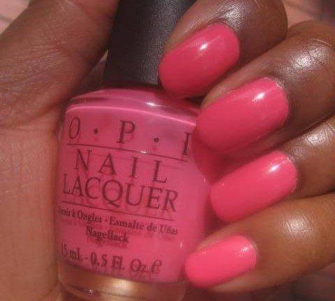 """""""OPI Elephantastic Pink Nail Polish"""""""