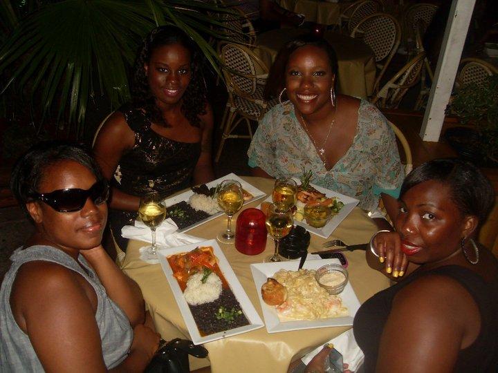 Dinner At Mango's South Beach