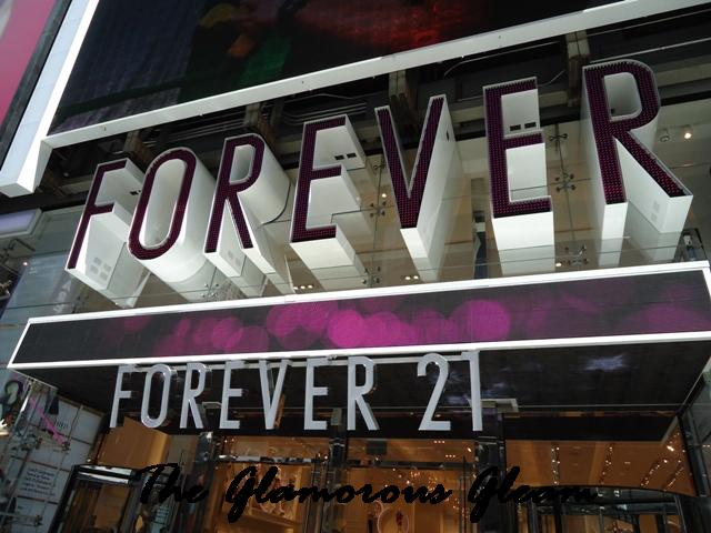 Forever 21 Times Square Review