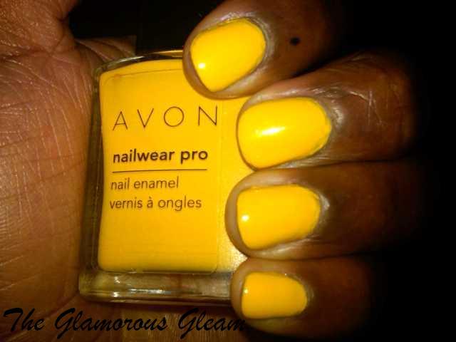 """""""Avon Pro Nail Wear Sunshine"""""""