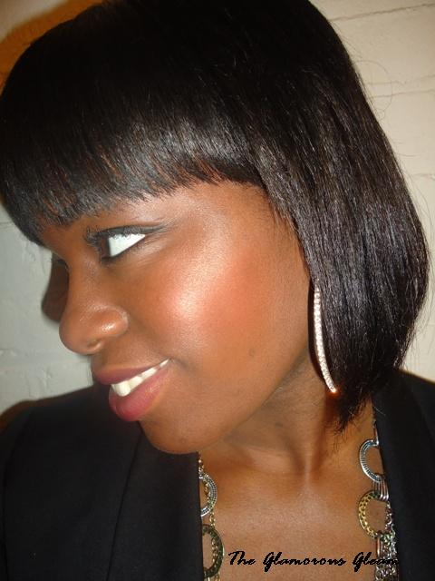 Chi Silk Infusion Flat Ironed Hair