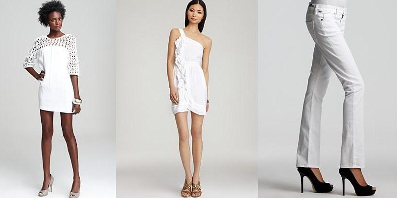 Spring 2011 Fashion Trends White