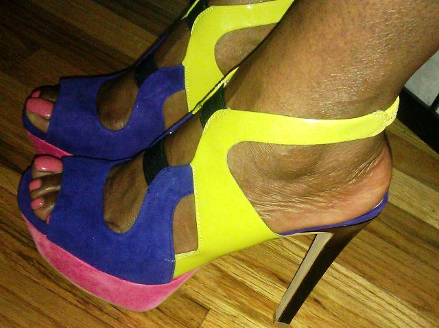 """Jessica Simpson Bendie Platform Sandal"""