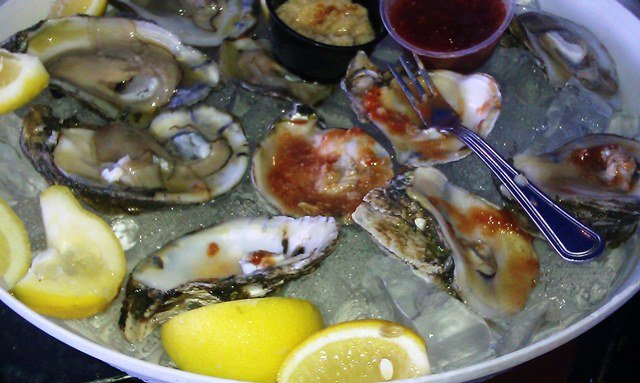 Oysters at the Cavalier Crab Shack Miami