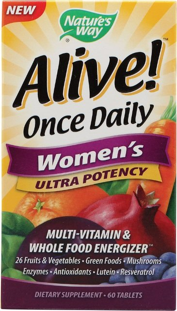 """Natures Way Alive Once Daily Womens Multi Vitamin-Ultra Potency"""
