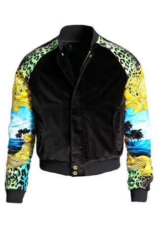 Versace for H&m Bomber Jacket