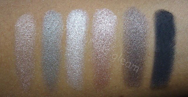 Urban Decay Naked 2 Palette Swatches
