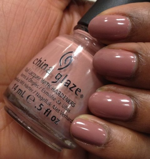 China Glaze Colours From The Capitol, Dress Me Up