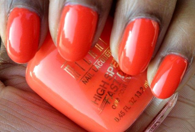 Milani High Speed Fast Dry Jiffy Orange