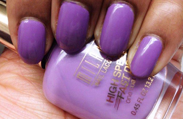 Milani High Speed Fast Dry Violet Dash