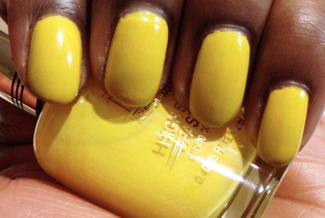 """Milani High Speed Fast Dry Yellow Whiz"""