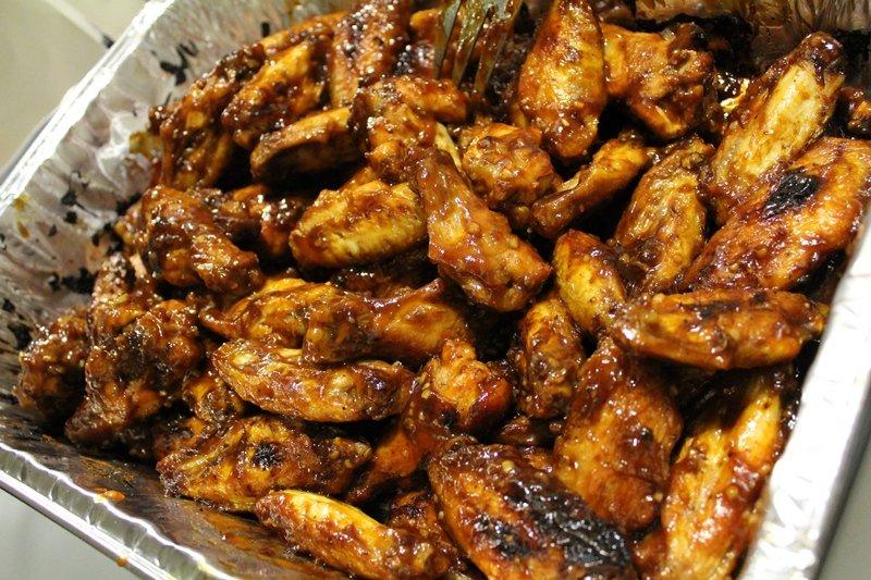Garlic Honey BBQ Wings