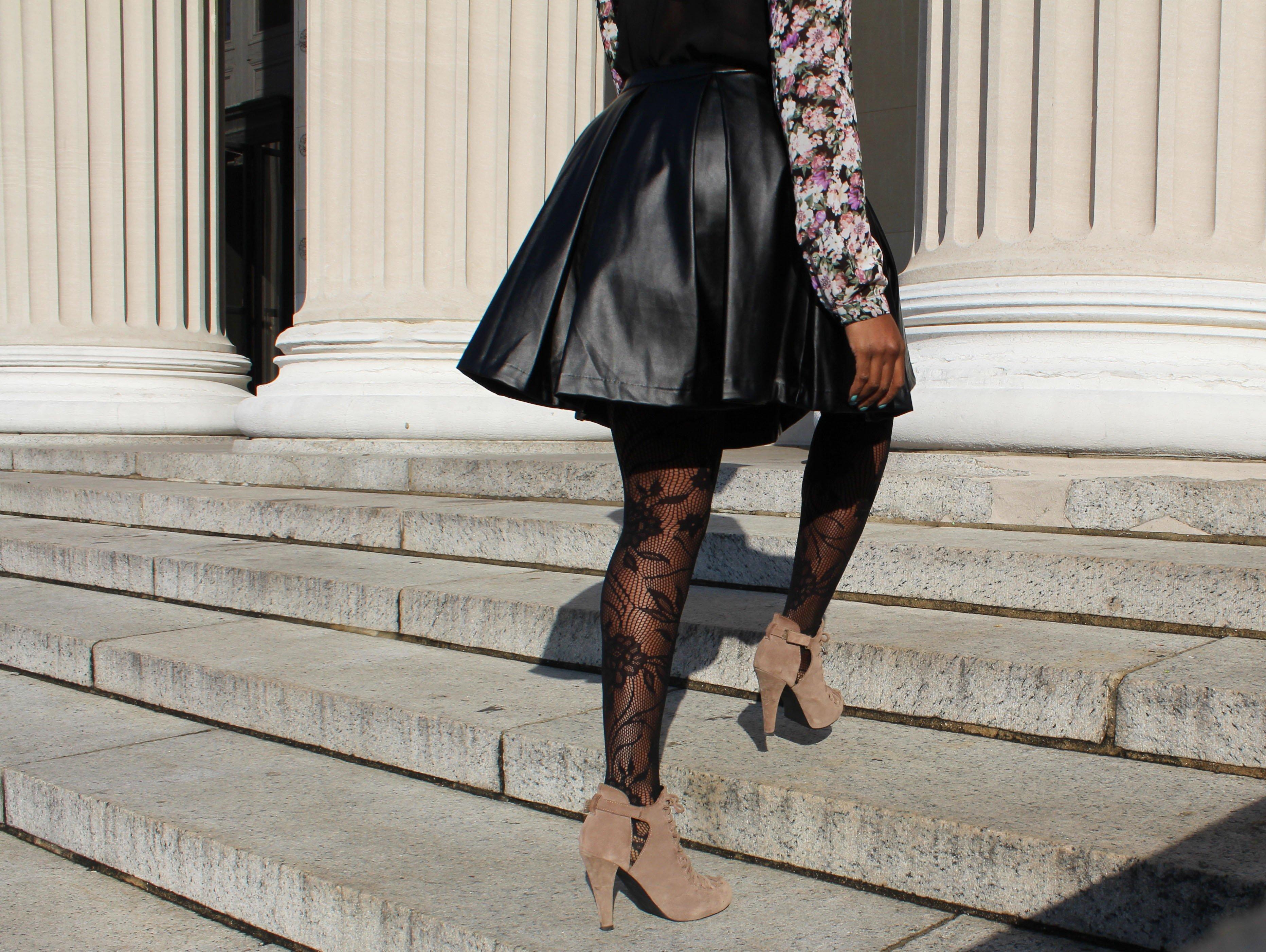 Faux-Leather-Skater-Skirt-OOTD5