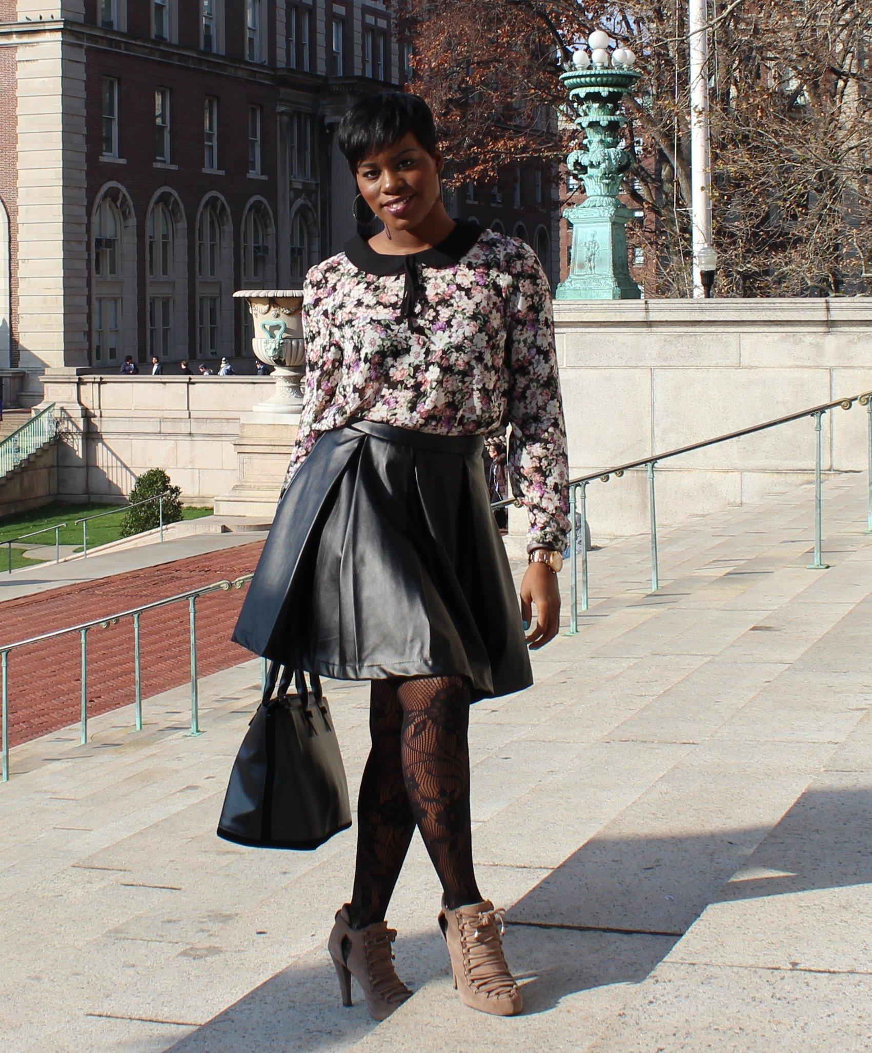 Faux-Leather-Skater-Skirt-OOTD6