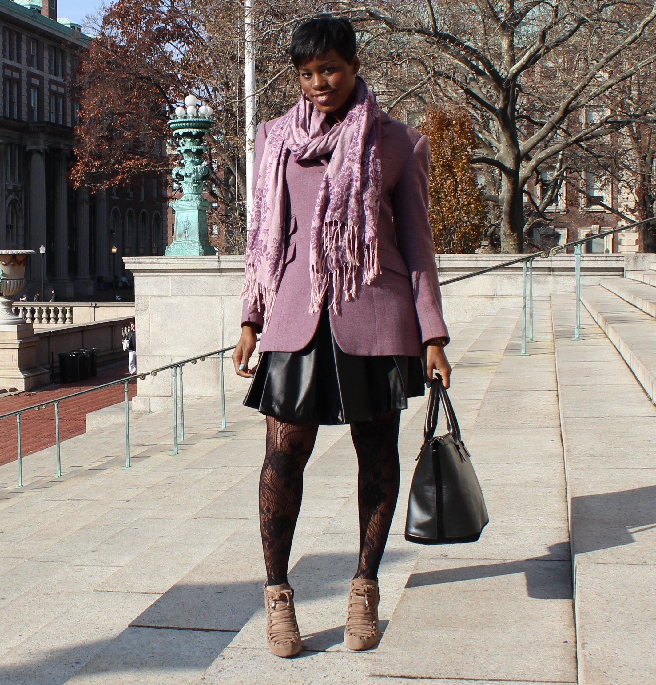 Faux-Leather-Skater-Skirt-OOTD8