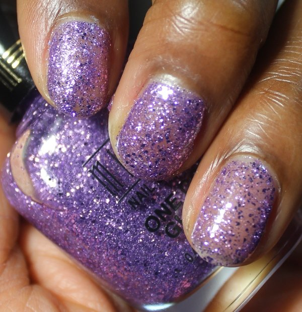 Milani One Coat Glitter Lavender Fizz