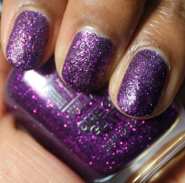 Milani One Coat Glitter Purple Gleam