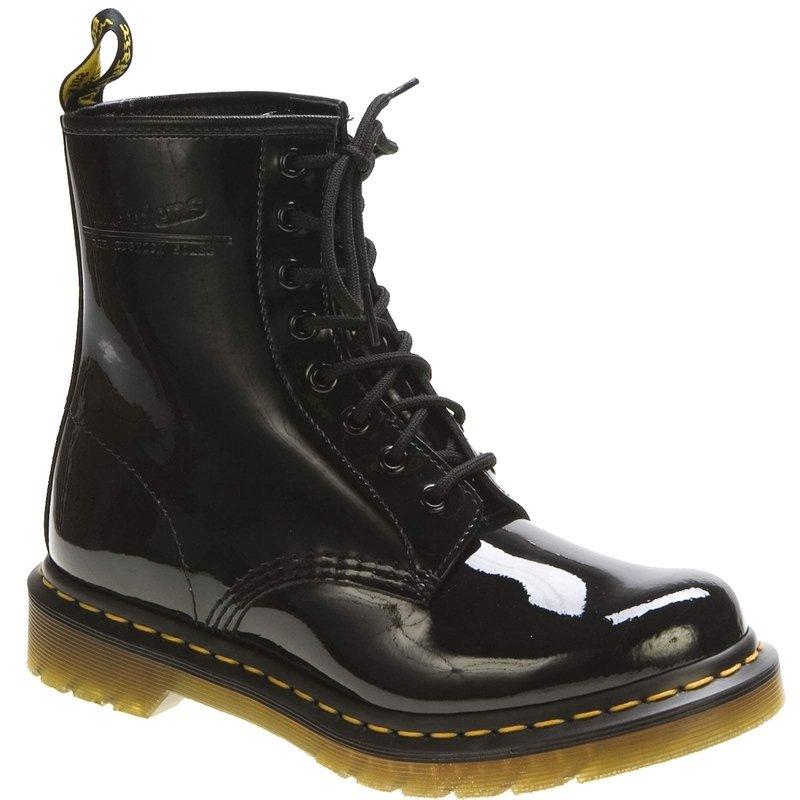 """Dr MArtens 1460 8 Eye Black Patent Boot"""