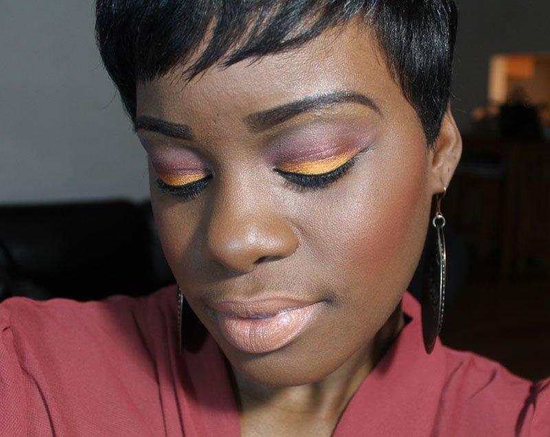 Sleek MakeUp Sunset Palette Look