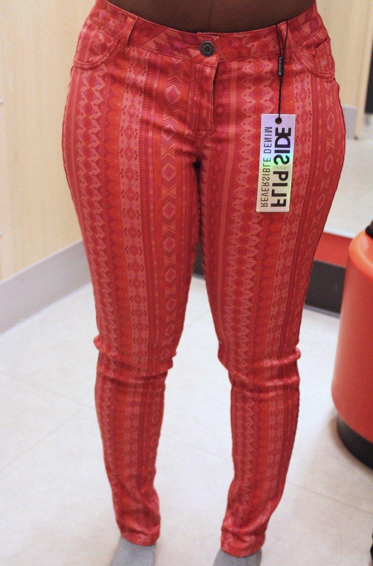 FlipSide Reversible JeansTribal Print
