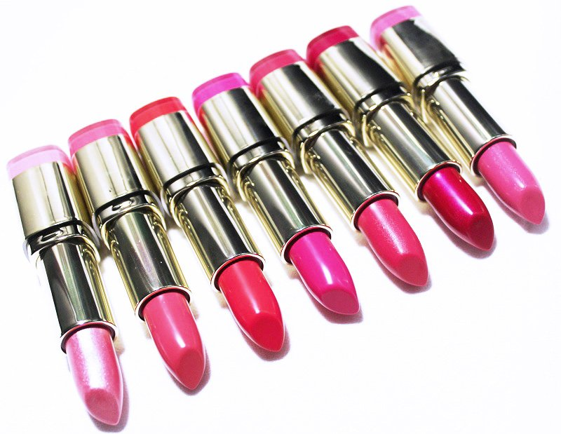Milani Color Statement Lipstick Pinks