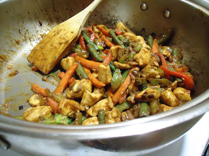 Sweet and Spicy Chicken Stir Fry Recipe