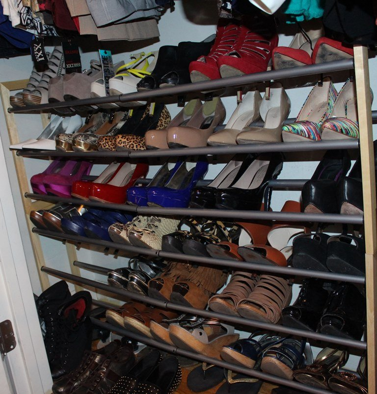 Well Organized Small Closet