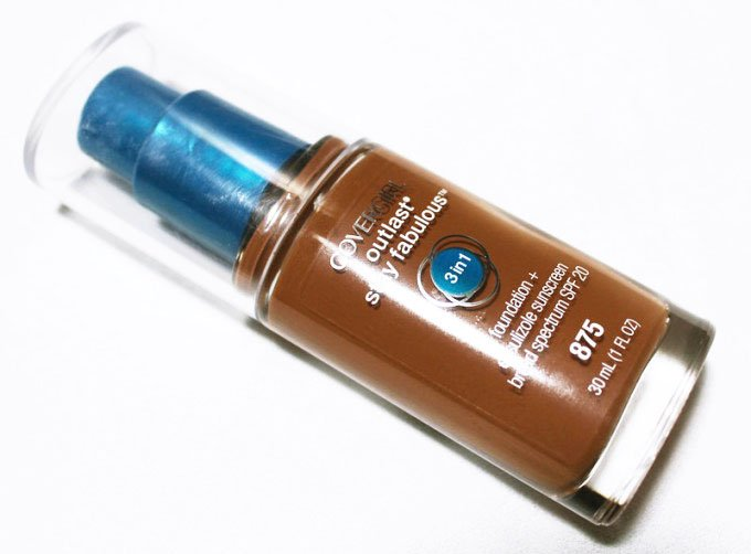 Covergirl Outlast Stay Fabulous 3-in-1 Foundation Soft Sable