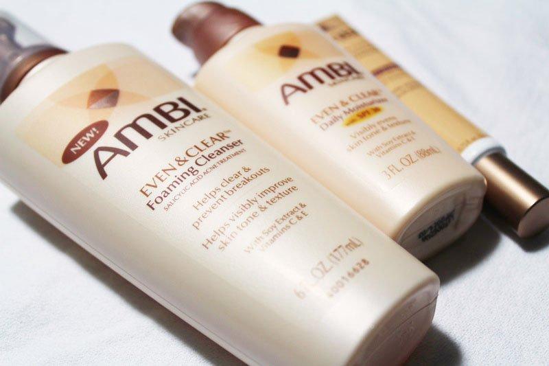 Ambi Even & Clear Foam Cleanser
