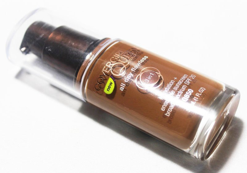 CoverGirl Queen All Day Flawless 3-in-1 Foundation in Sheer Espresso