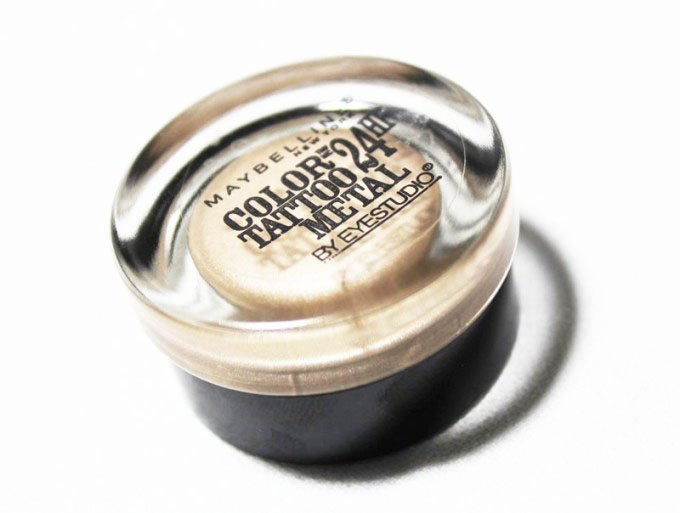 Maybelline Color Tattoo Metal Eyeshadow in Barely Branded