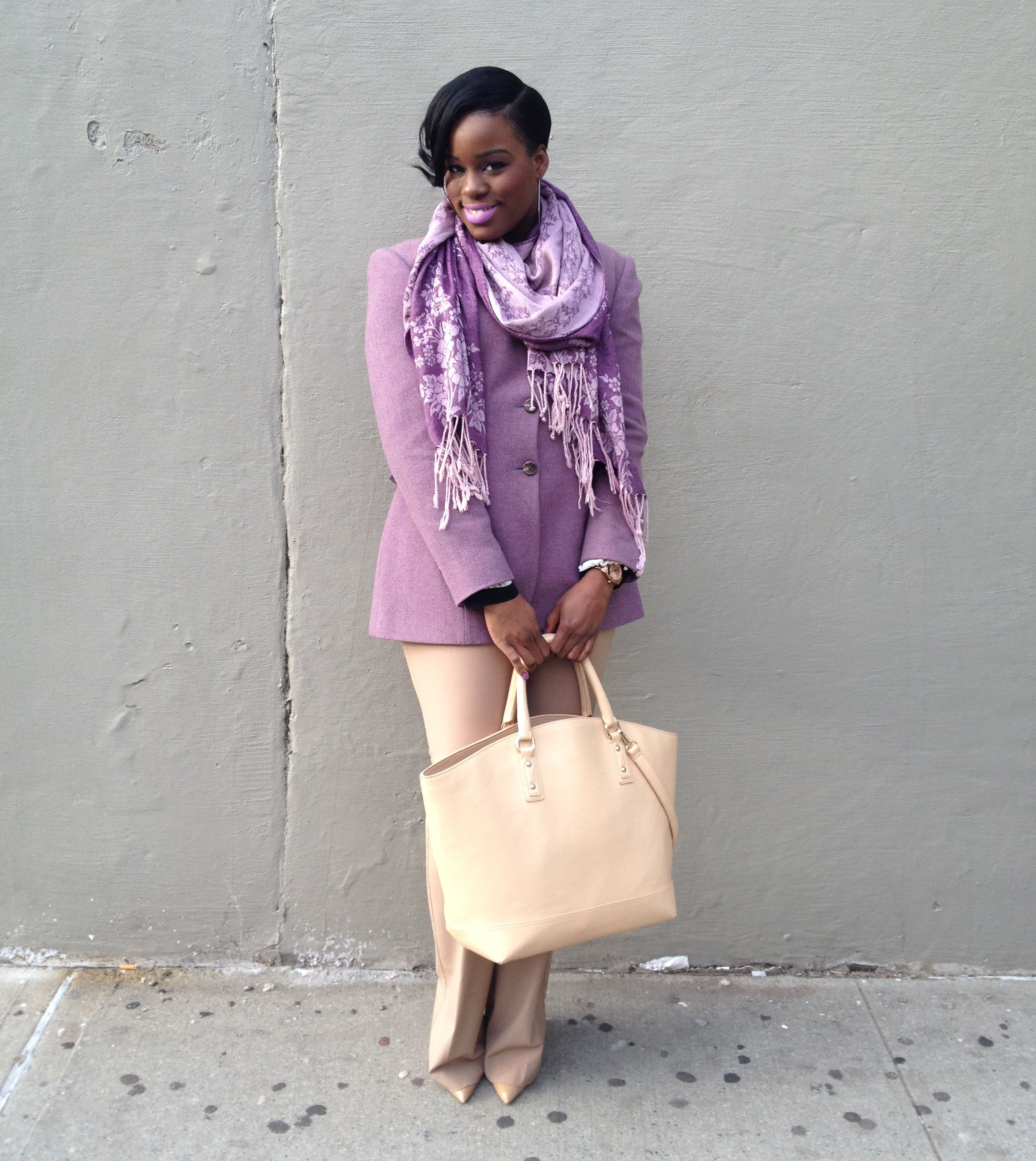 neutral paired with pastels