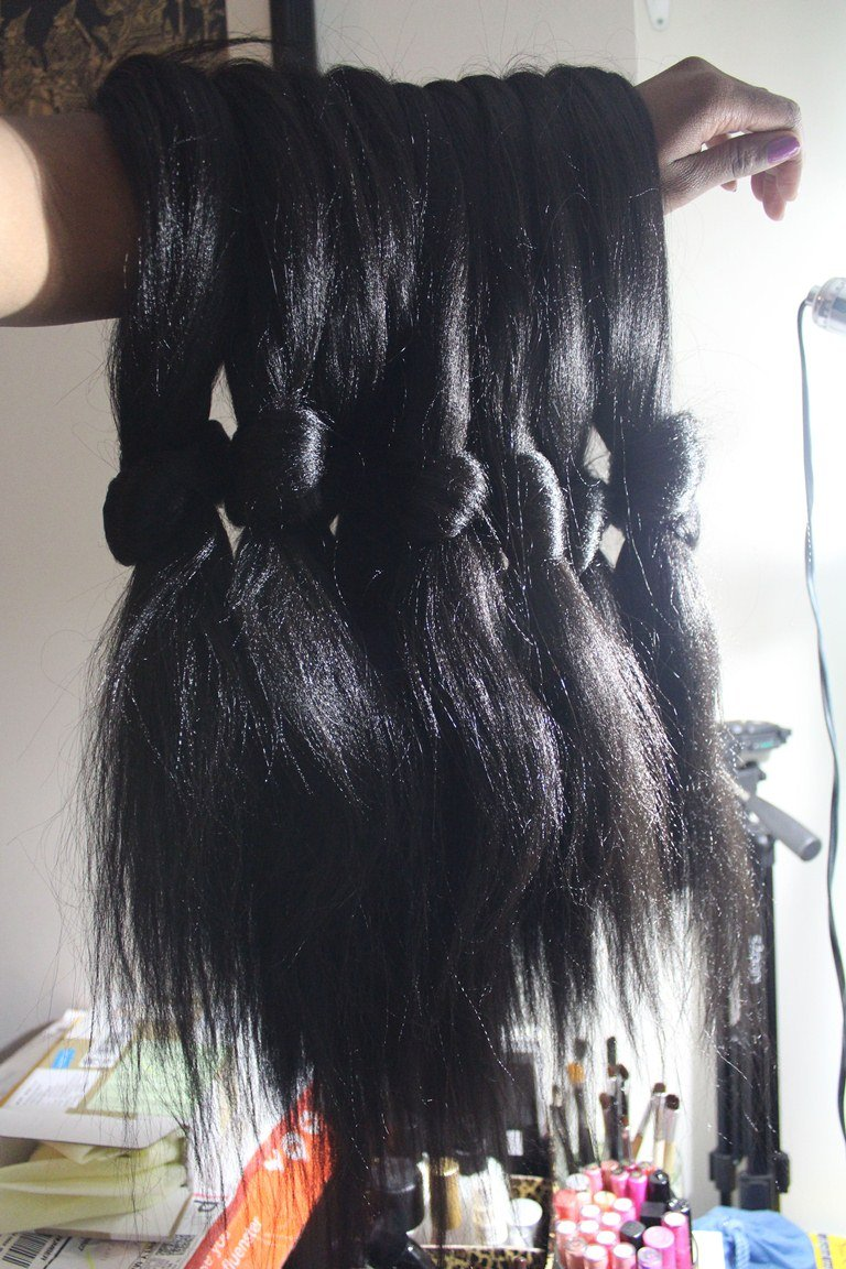 Xpression Kanekalon Hair