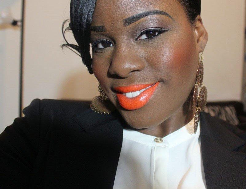 Sleek MakeUp True Color Lipstick in Tangerine Scream