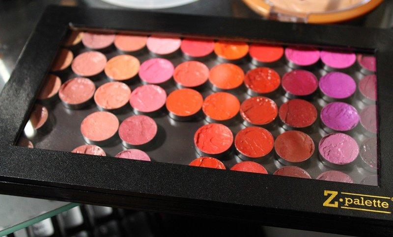 DIY Z Palette Custom Lipstick Palette