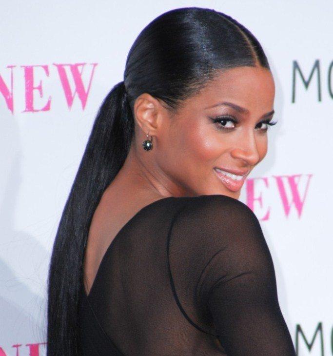 ciara ponytail