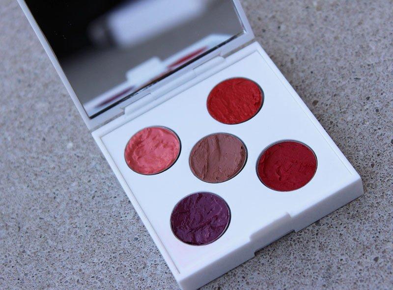 yaby custom lipstick palette