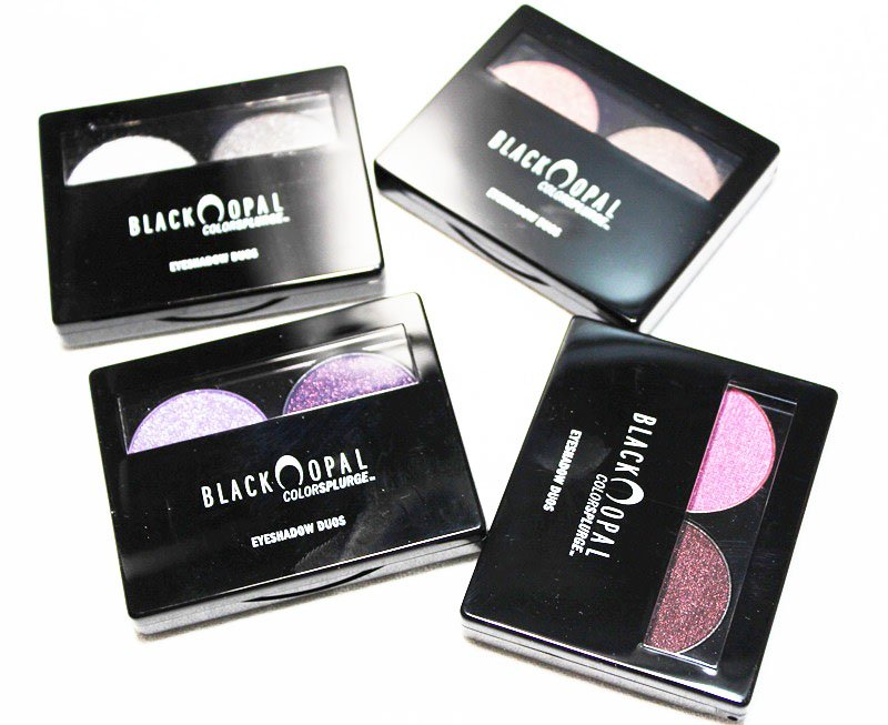 Black Opal Color Splurge Eyeshadow Duos