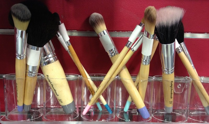 Ricky's Paintbrush Makeup Brushes