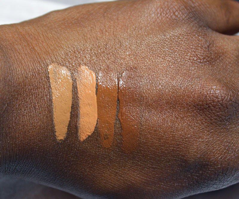 Black Opal Even True Flawless Skin Liquid Makeup swatches