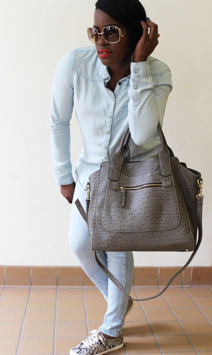 Denim on Denim outfit