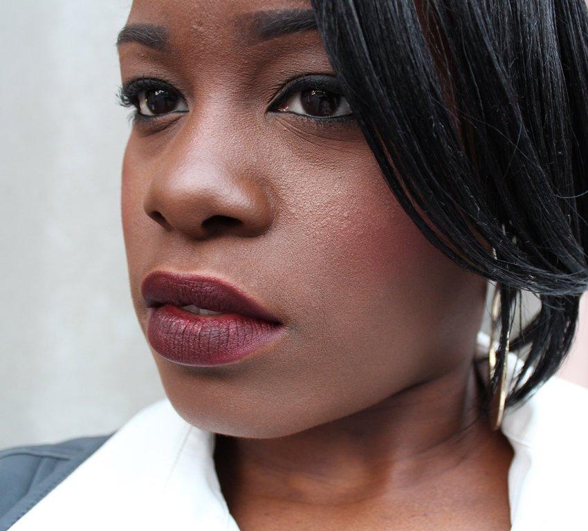 MAC Talk That Talk Lipstick Dark Skin