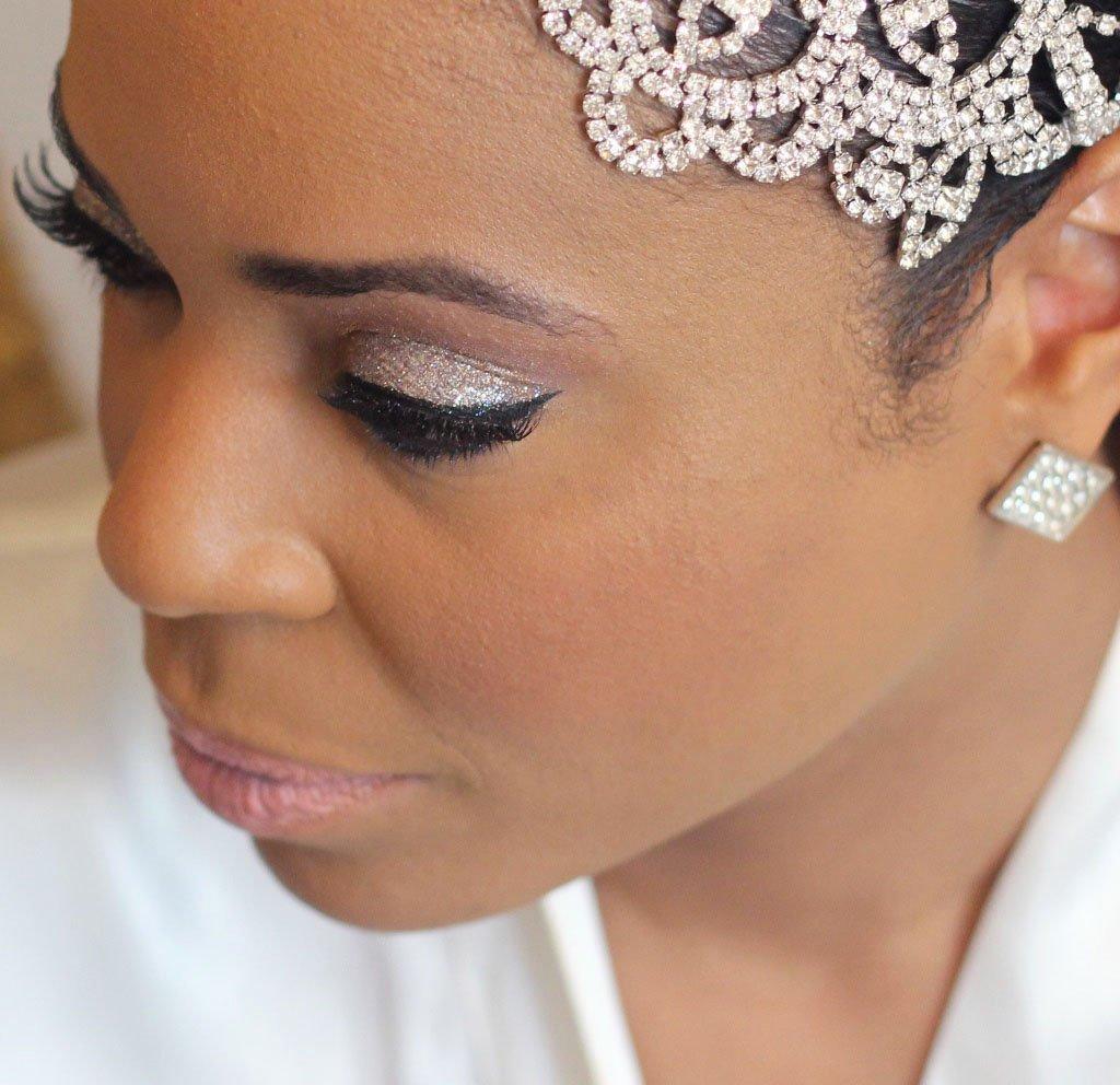 Moore Than Just Makeup Bridal look