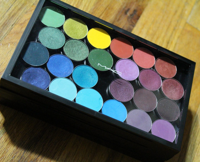 custom mac eyeshadow palatte