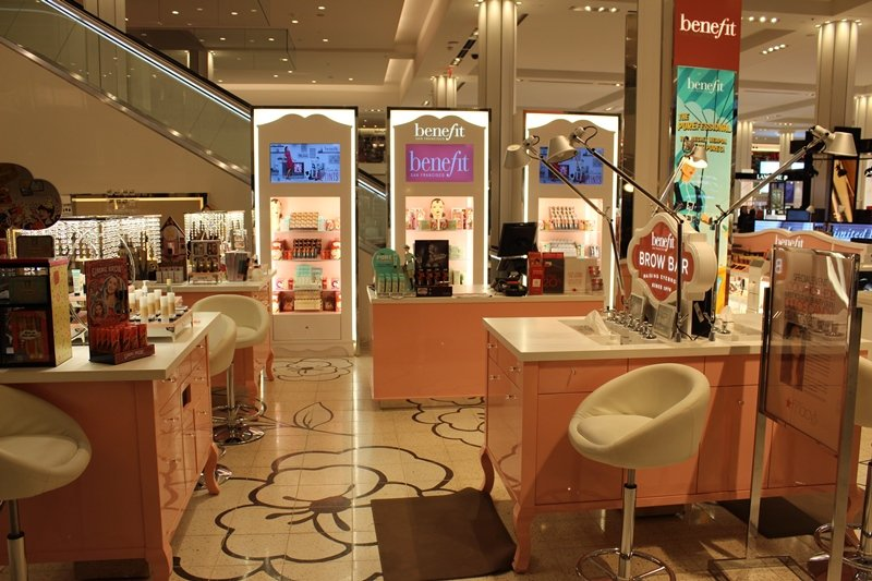 Beauty Department at Macy's Herald Square Benefit