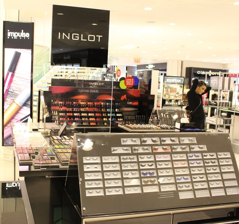 Beauty Department at Macy's Herald Square Inglot