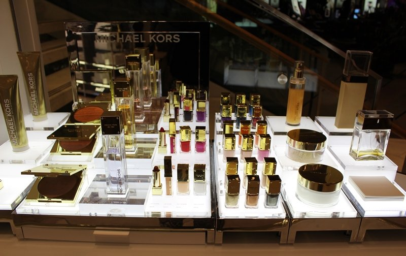Beauty Department at Macy's Herald Square Michael Kors