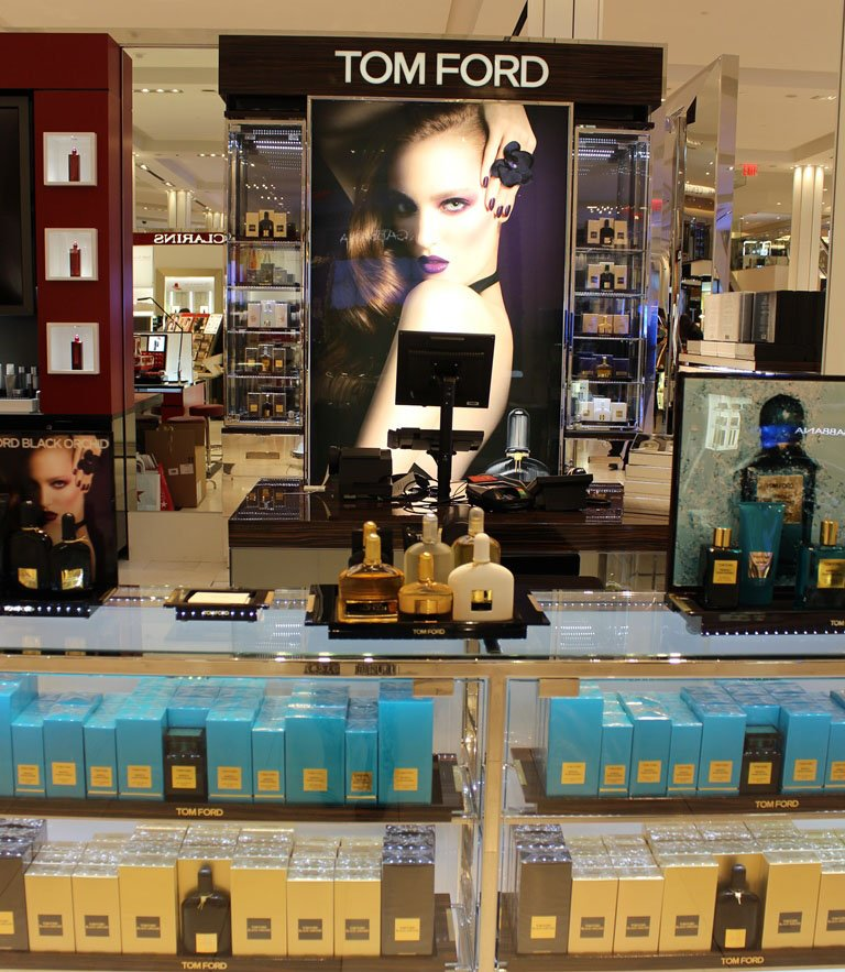 Beauty Department at Macy's Herald Square Tom Ford