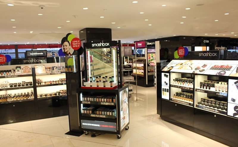 Beauty Department at Macy's Herald Square Smashbox